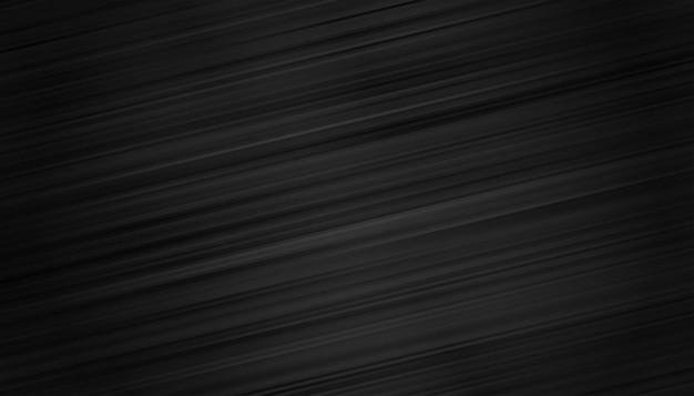 Fond d'écran noir avec fond de lignes de mouvement