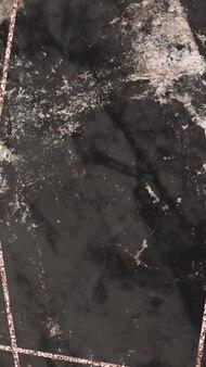 Fond d'écran de téléphone portable en marbre noir blanc
