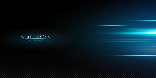 Fond d'effet de lumière. résumé des faisceaux laser de lumière. rayons de lumière néon chaotiques.