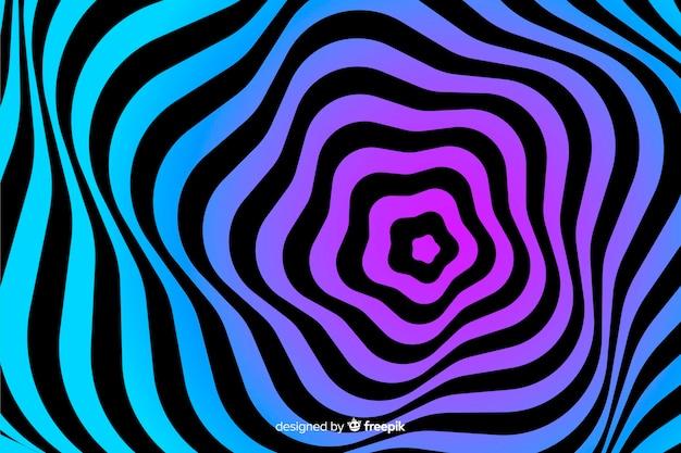 Fond d'effet d'optique illusion