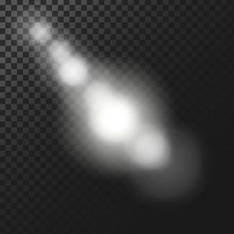 Fond d'effets de lumière