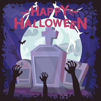 Fond effrayant halloween