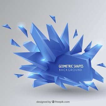 Fond élégant avec un design géométrique