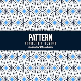Fond élégant avec motif géométrique