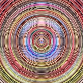 Fond d'éléments graphiques abstrait cercle coloré