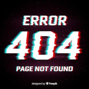 Fond d'erreur 404