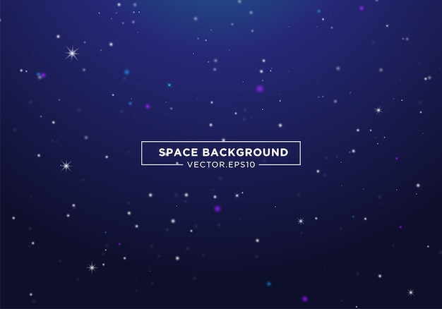 Fond de l'espace abstrait