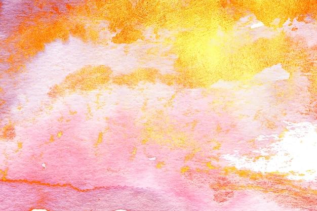Fond d'espace copie colorée dégradé aquarelle