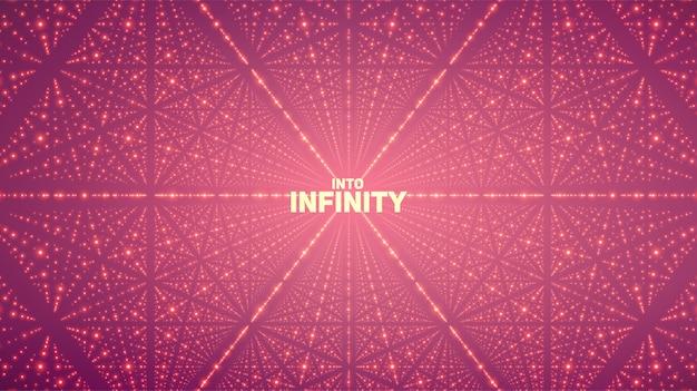 Fond d'espace infini