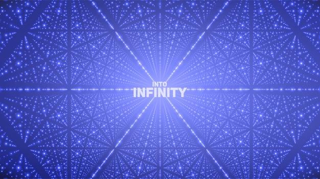 Fond de l'espace infini