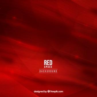 Fond de l'espace rouge