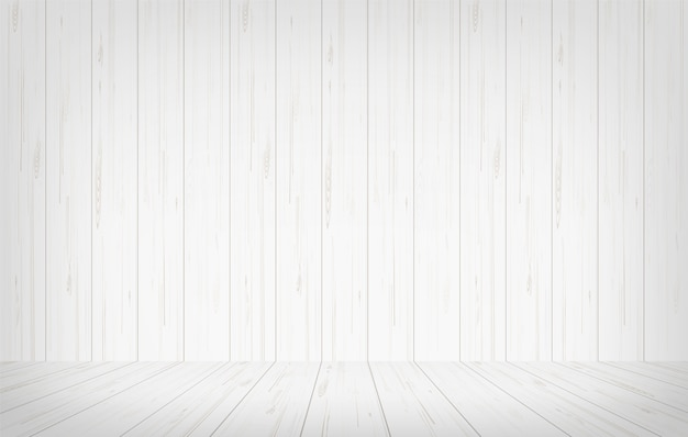 Fond de l'espace de la salle en bois vide.