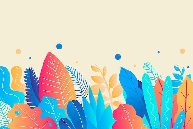 Fond d'été coloré