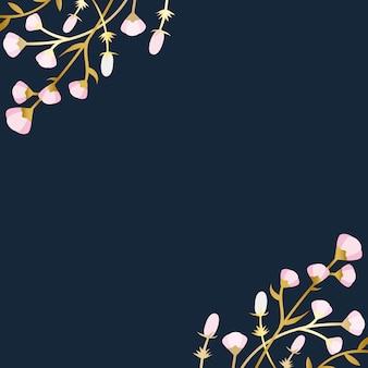 Fond d'été floral