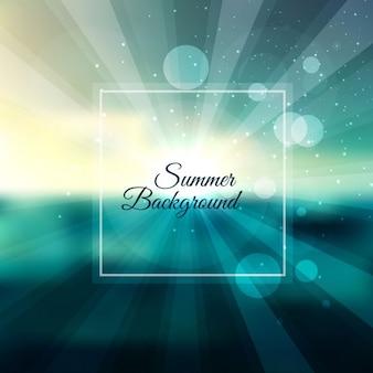 Fond d'été lumineux