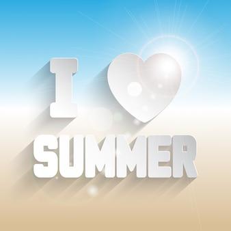 Fond de l'été