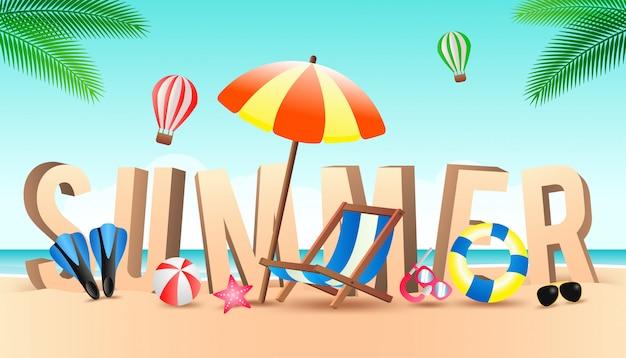 Fond d'été