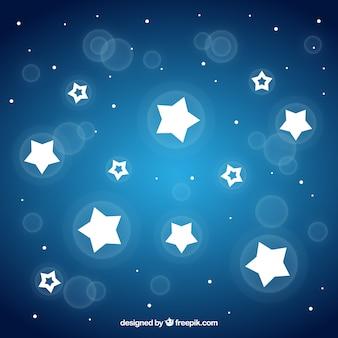 Fond d'étoile brillante