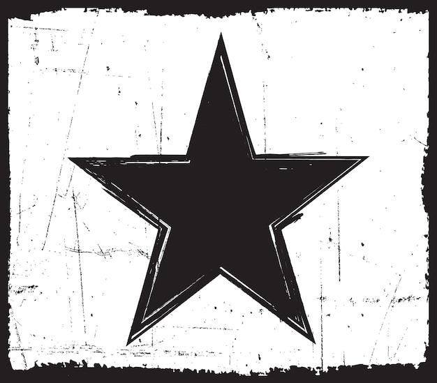 Fond étoile grunge