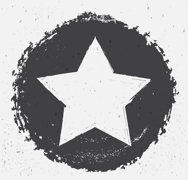 Fond d'étoile sale grunge
