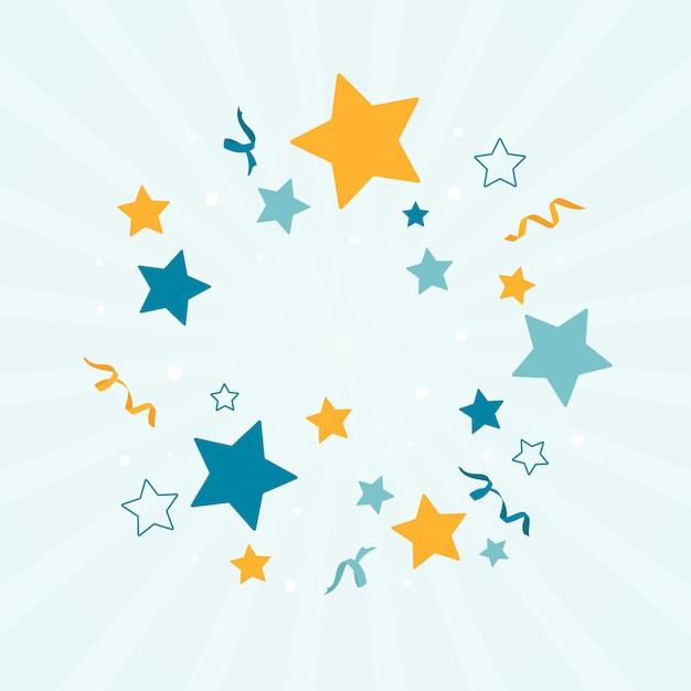 Fond étoile