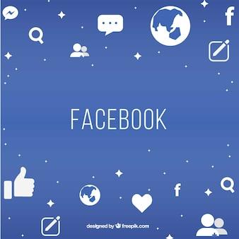 Fond facebook