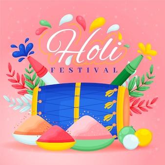 Fond de festival holi