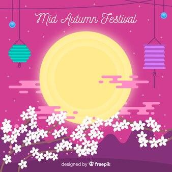 Fond de festival de mi automne