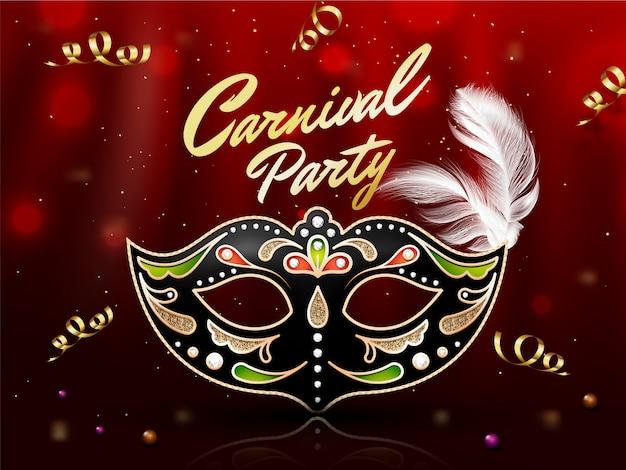 Fond fête de carnaval.
