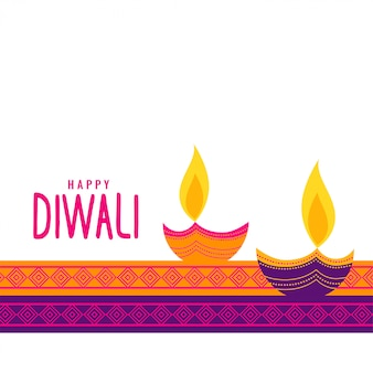 Fond de fête ethnique diwali