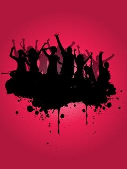 Fond de fête grunge