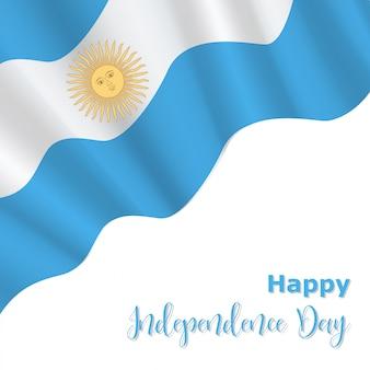 Fond de la fête de l'indépendance de l'argentine