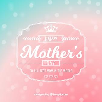 Fond de fête des mères brillantes