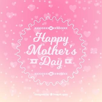 Fond de la fête des mères rose