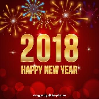 Fond de fête de nouvel an