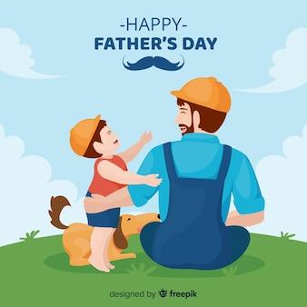 Fond de fête des pères