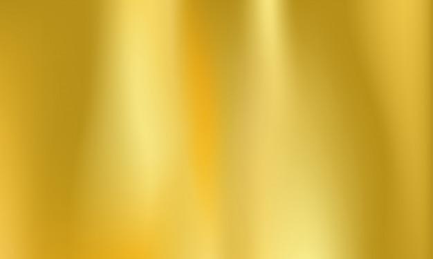 Fond de feuille d'or métal doré holographique