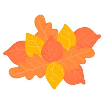 Fond de feuilles d'automne pour votre conception