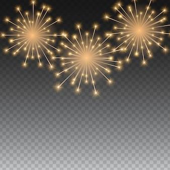 Fond de feux d'artifice brillant