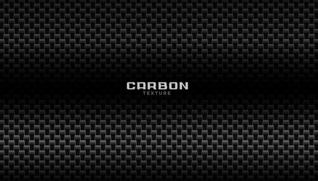 Fond de fibre de carbone abstrait foncé