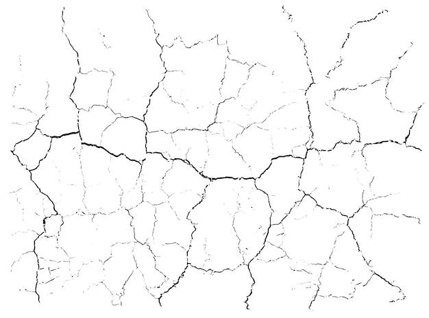 Fond de fissures naturelles