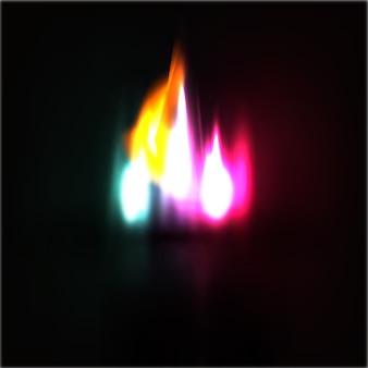 Fond de flamme