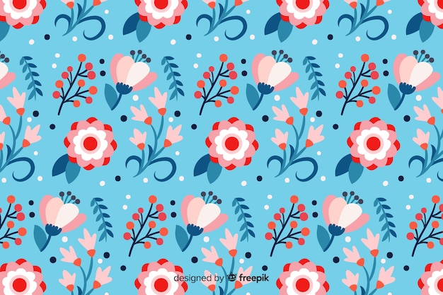 Fond de fleurs de printemps magnifique