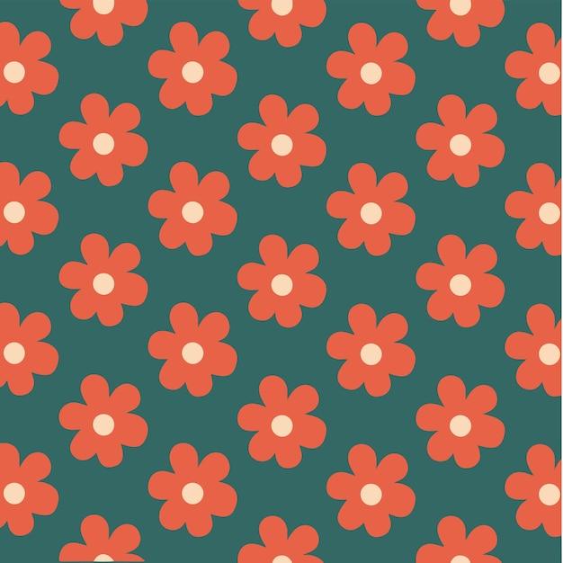 Fond fleurs roses rouges illustration vectorielle florale