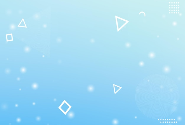 Fond de flocon de neige de noël d'hiver. vecteur de flocon de neige tombant