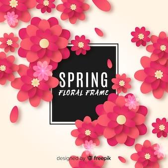 Fond floral beau printemps
