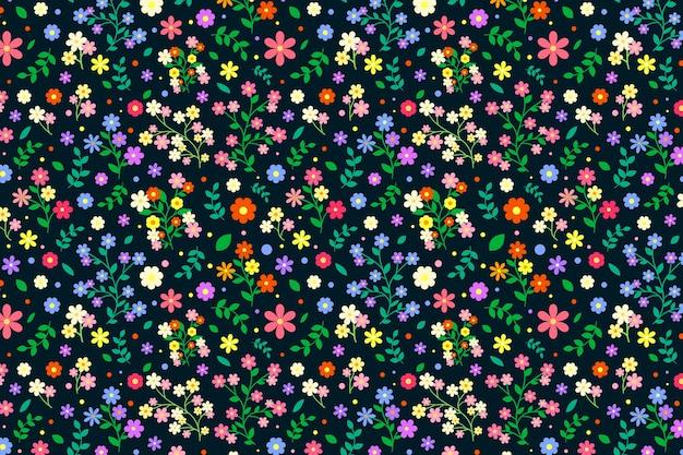 Fond floral coloré ditsy