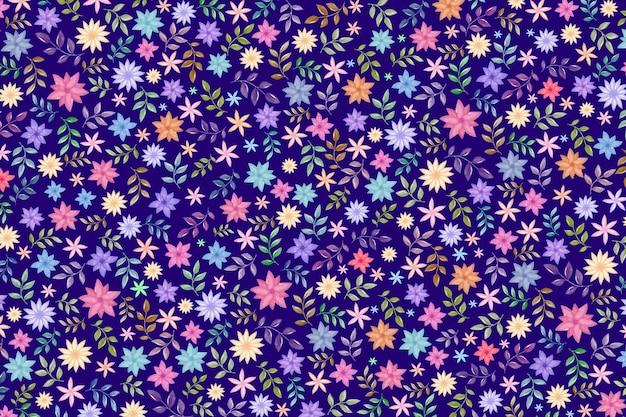 Fond floral coloré
