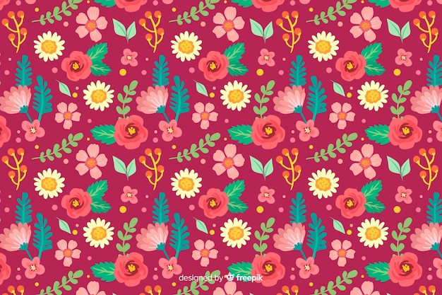 Fond floral ditsy