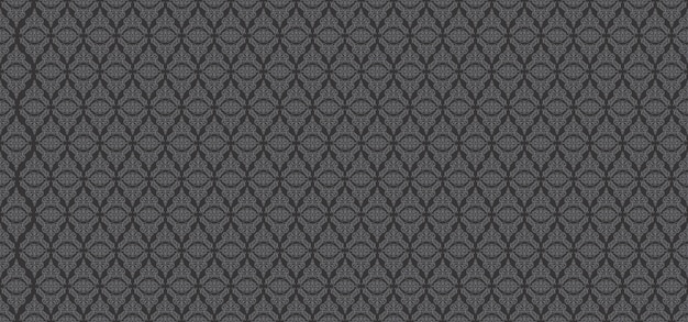 Fond floral ornemental motif européen gris